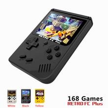Mini Handheld Game Console Nostalgic Children Retro Family TV Video Built-in 168 Games For Boy Player