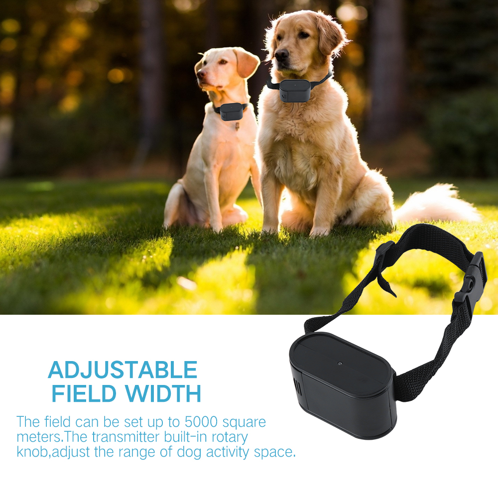 Invisible Electric Dog Fence with collar labradors