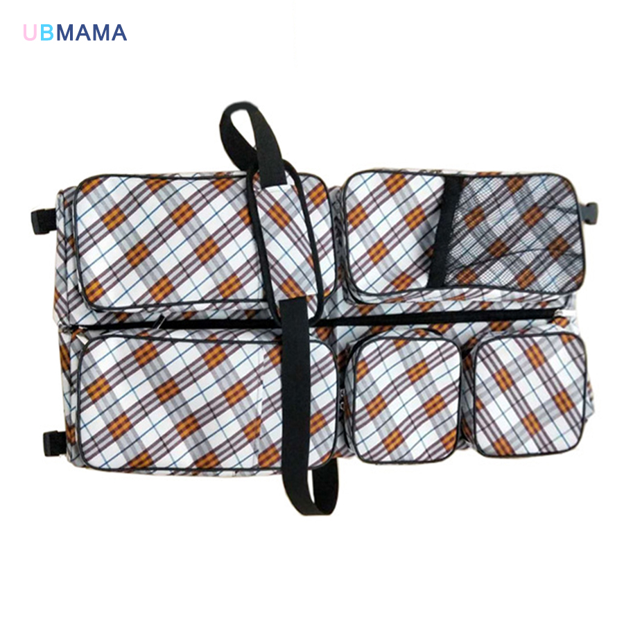 Multi-function portable foldable Travel out Changing diapers Exquisite Mummy pack A variety of color Newborns Crib 74*35*18cm multi diapers