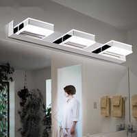 LED vanité éclairage 4 W/8 W/12 W/16 W LED salle de bain moderne cosmétique acrylique applique étanche salle de bains éclairage appliques