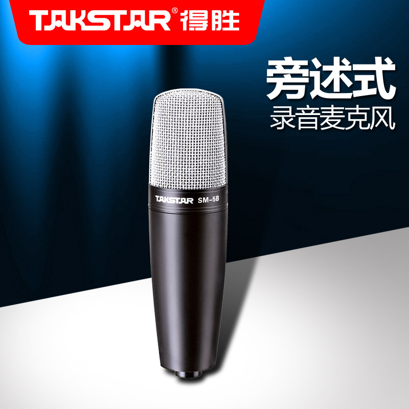 ФОТО Takstar/ SM-5B-S of the recording microphone beside the victory