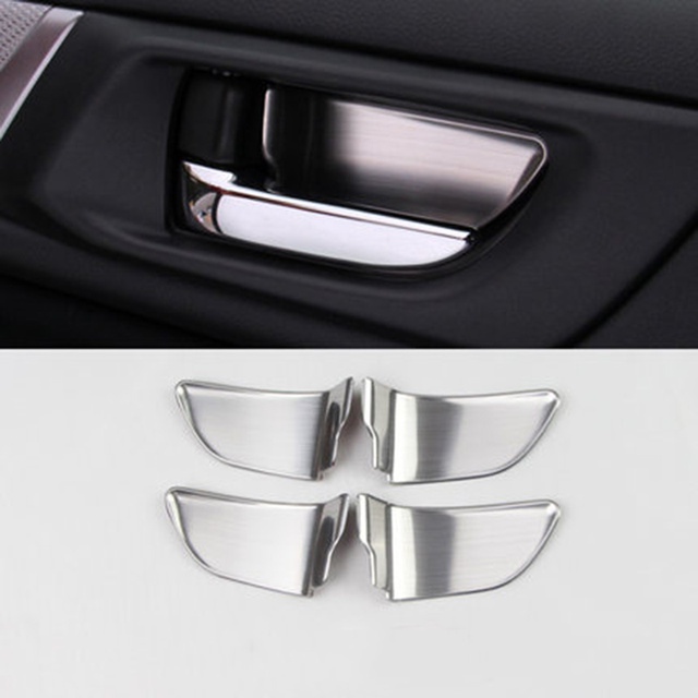 Fit for subaru forester xv outback legacy impreza sti 2015 2016 2017 fit for subaru forester xv outback legacy impreza sti 2015 2016 2017 interior door handle trim planetlyrics Images
