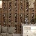 Papéis de parede do PVC Papel de Parede À Prova D' Água do vintage 3d Papel De Parede De Pedra Papel Contact, Painéis de Parede 3D De Madeira Vinil Papel De Parede Rolo para paredes