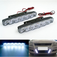 цена на LED Car Daytime Running LED Lights drl DC 12V Auto Fog Light Driving Lamps  Super Bright car led DRL for all car accessories