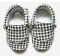 New Girdcow leather soft-soled leather baby moccasins prewalker booties infant /baby moccasin fringe drops free shipping