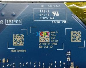 Image 4 - Dell Inspiron 15 5559 için RV4XN 0RV4XN CN 0RV4XN AAL15 LA D071P REV: 1.0 (A00) i7 6500U Laptop Anakart Anakart için Test