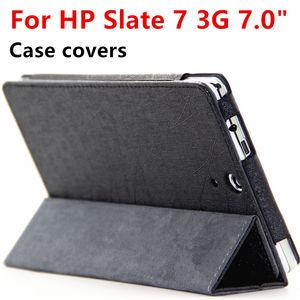 Image 1 - Coque de protection en cuir pour tablette HP, pour tablette TouchPad 7 3G, 7.0 pouces, housses de protection PU