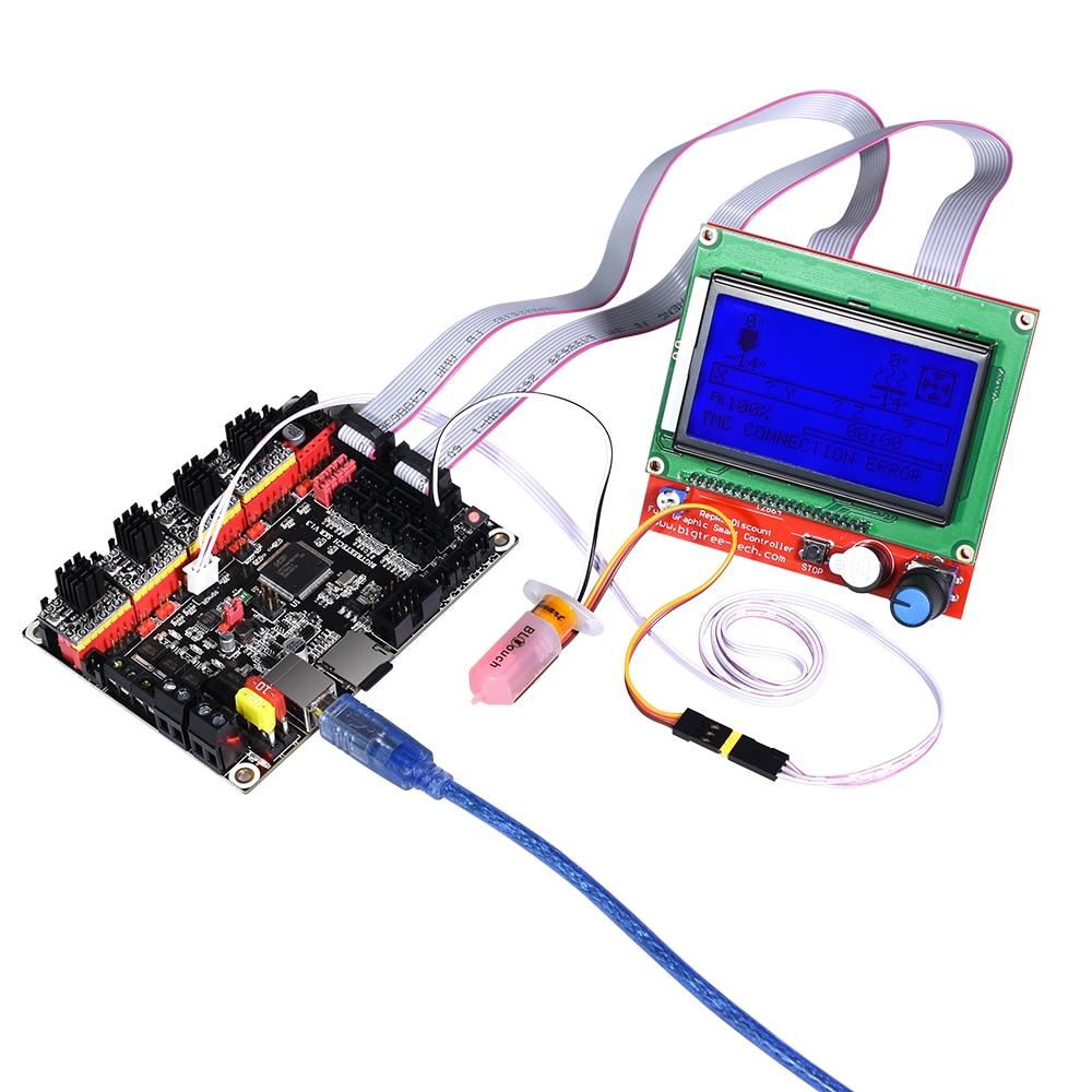 Image 4 - BIGTREETECH SKR V1.3 3D Printer Controller Board ARM 32 Bit Mainboard TMC2208 Compatible Smoothieboard Marlin 3d printer parts3D Printer Parts & Accessories   -