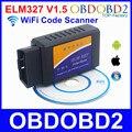 10 Unids WiFi ELM327 V1.5 OLMO 327 OBDII Herramienta de Análisis de Diagnóstico Para Los Coches de varias Marcas de Apoyo IOS Android Windows Para Todos Los Protocolos OBD2