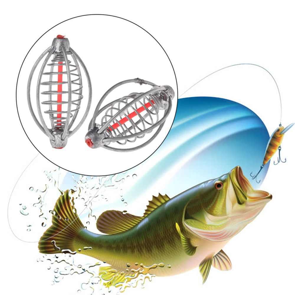 דיג מזין עופרת כלוב פיצוץ קרס פיתוי פיתיון מחזיק אביזרי כלי