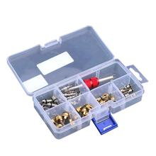 35pcs R134A A/C Car Automotive Air Conditioning Valve Cores with Removal Tool Auto Car Air Conditioning Assortment Remover Kit