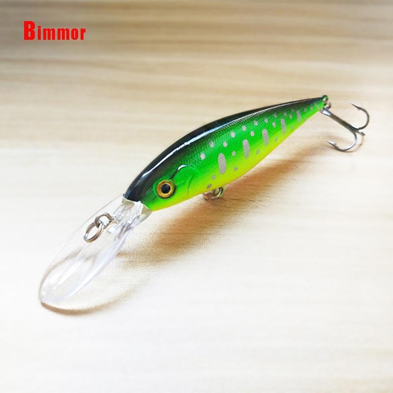 Bimmor Floating Fishing Lures Wobbler Minnow Hard Baits Artificial 11cm 11g Plastic Pesca Fishing Tackle 6# Hooks 1pcs/lot B020 стоимость