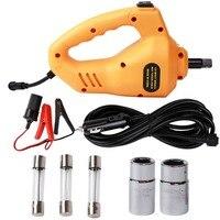 Rogtz chave de impacto elétrica 1/2 Polegada 350n. m 12 v reparação do carro chave de impacto motorista arma azul/vermelho/laranja