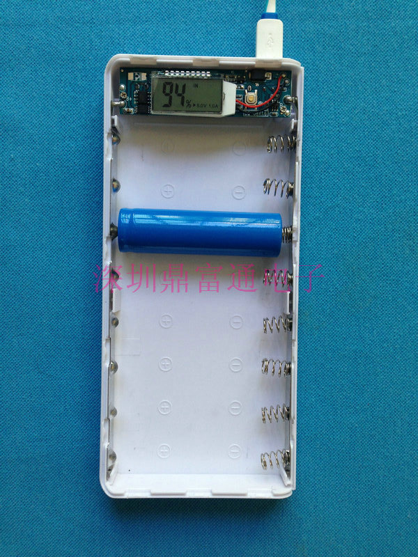 no battery) diy power bank box with circuit board led  diy power bank box with circuit board