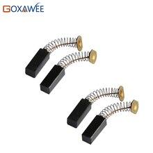 GOXAWEE 6 пар угольных щеток для CC30 SR гибкий вал шлифовальный станок Инструменты CC30 SR угольные щетки для Foredom подвесной мотор