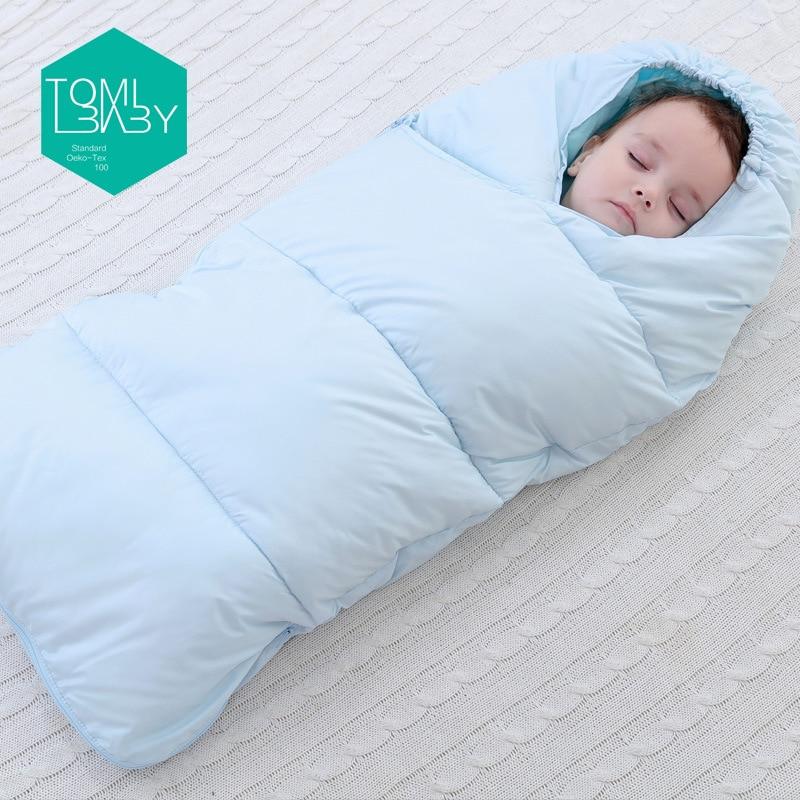 Baby Schlafsack Winter Umschlag Für Neugeborene Schlafen Thermische Sack Baumwolle Kinder Schlaf Sack In Die Wagen Rollstühle Hohe QualitäT Und Preiswert