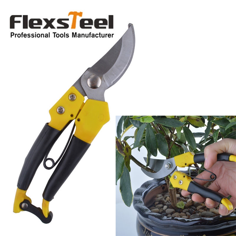 Flexsteel 8 pruning shears tesoura para poda garden tools for Gardening tools pruning