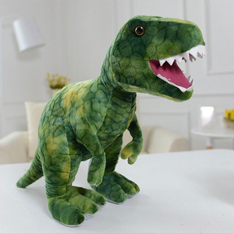 Wholesale 80cm Dinosaur Good Quality Simulation Plush toys Dinosaur Dolls Animal Stuffed Doll Toys For Baby Birthday Gift plush dinosaur doll child toys magic dragon simulation stuffed animal toy dolls stores