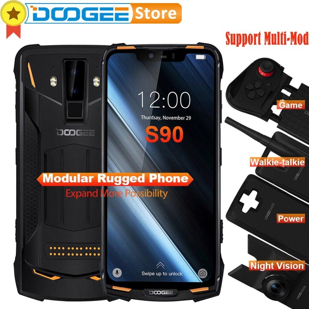Doogee S90 6GB 128GB Cell Phone IP68 IP69K Waterproof shockproof 5050mAh 6 18 MT6671 Smartphone 16MP