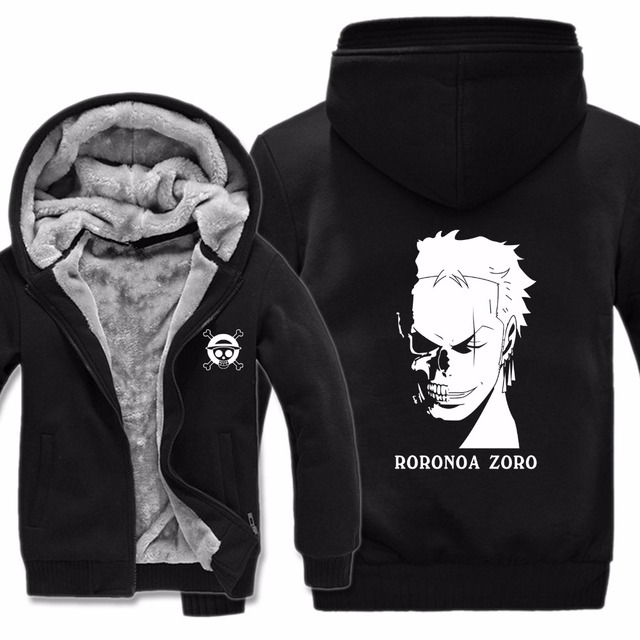 One Piece Roronoa Zoro Sudadera con Capucha Estampada (6 Colores)