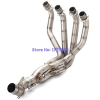 Modified Z1000 2010-2017 Motorcycle Exhaust Full System Front Pipe Headers Stainless Steel Motorbike Exhaust Front Pipe Z1000