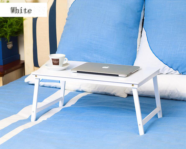 Alta qualidade notebook Lapdesks Laptop Dobrável Cama Mesa Mesa do computador Portátil mesa dobrável de madeira de bambu nova chegada SE26
