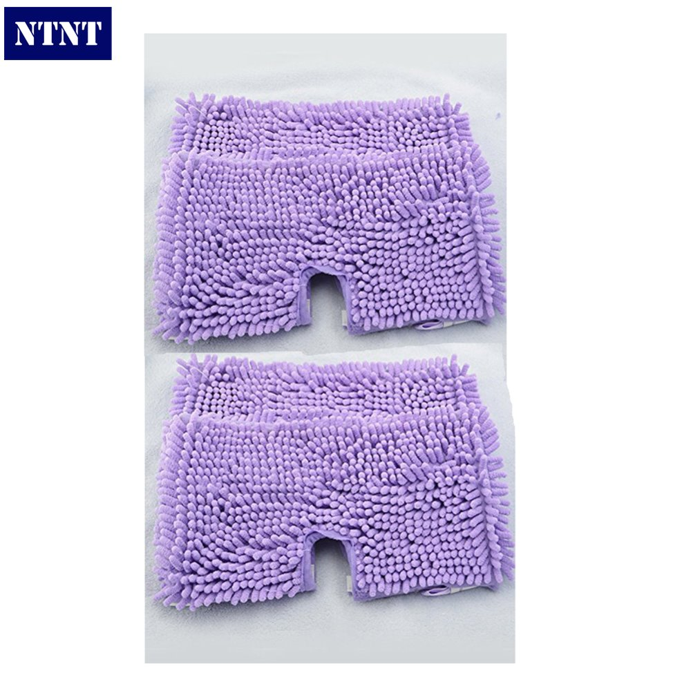 NTNT Free Post Ship New 4x Washable Microfibre Coral Steam Mop Cloth For Shark Pad S3501 S3601 S3901 стоимость