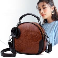 Hot Fashion Crossbody Bags for Women 2019 High quality Leather Shoulder Bag Tassel Rivets Casual Famous Brand Women Bags Handbag