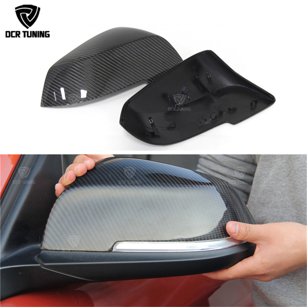 Replacement style FOR BMW 3 series 2013 2014 2015 2016 - UP 320i 328i 330i 335i 320 F30 carbon fiber side mirror cover replacement style for bmw 3 series 2013 2014 2015 2016 up 320i 328i 330i 335i 320 f30 carbon fiber side mirror cover