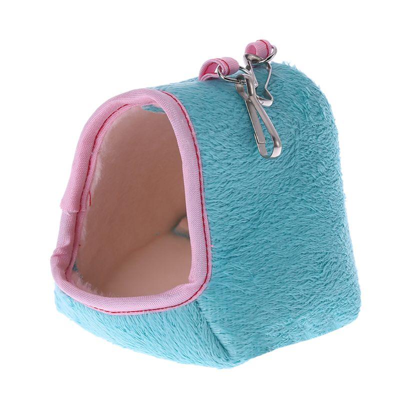 Hamster Cage Hammock Guinea Pig Sleeping Bed Winter Warm Small Animal House