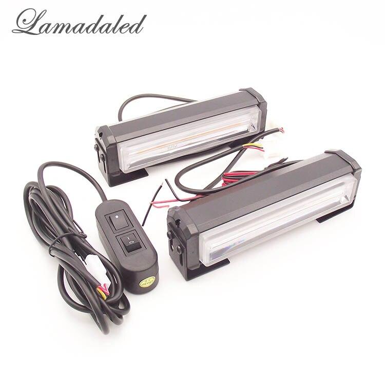 ①Lamadaled 2 unids COB luces estroboscópicas bar lámpara de ...