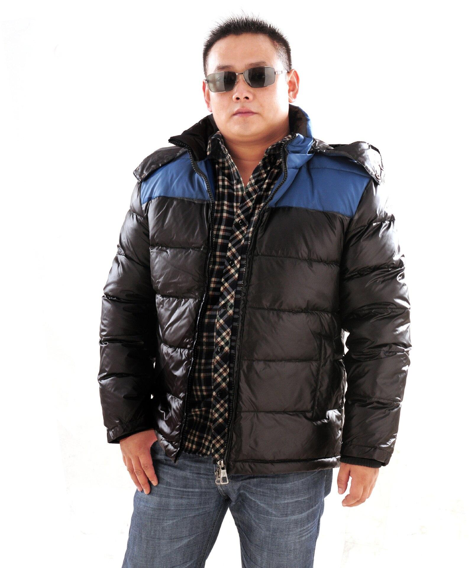 large yards 2016 Winter Mens down jacket plus szie plus size parka Mens down coat white duck