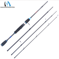 Maximumcatch 6 90FT Or 7 80FT 4PCS Lure Weight 10 30g 15 40g Spinning Fishing Rod