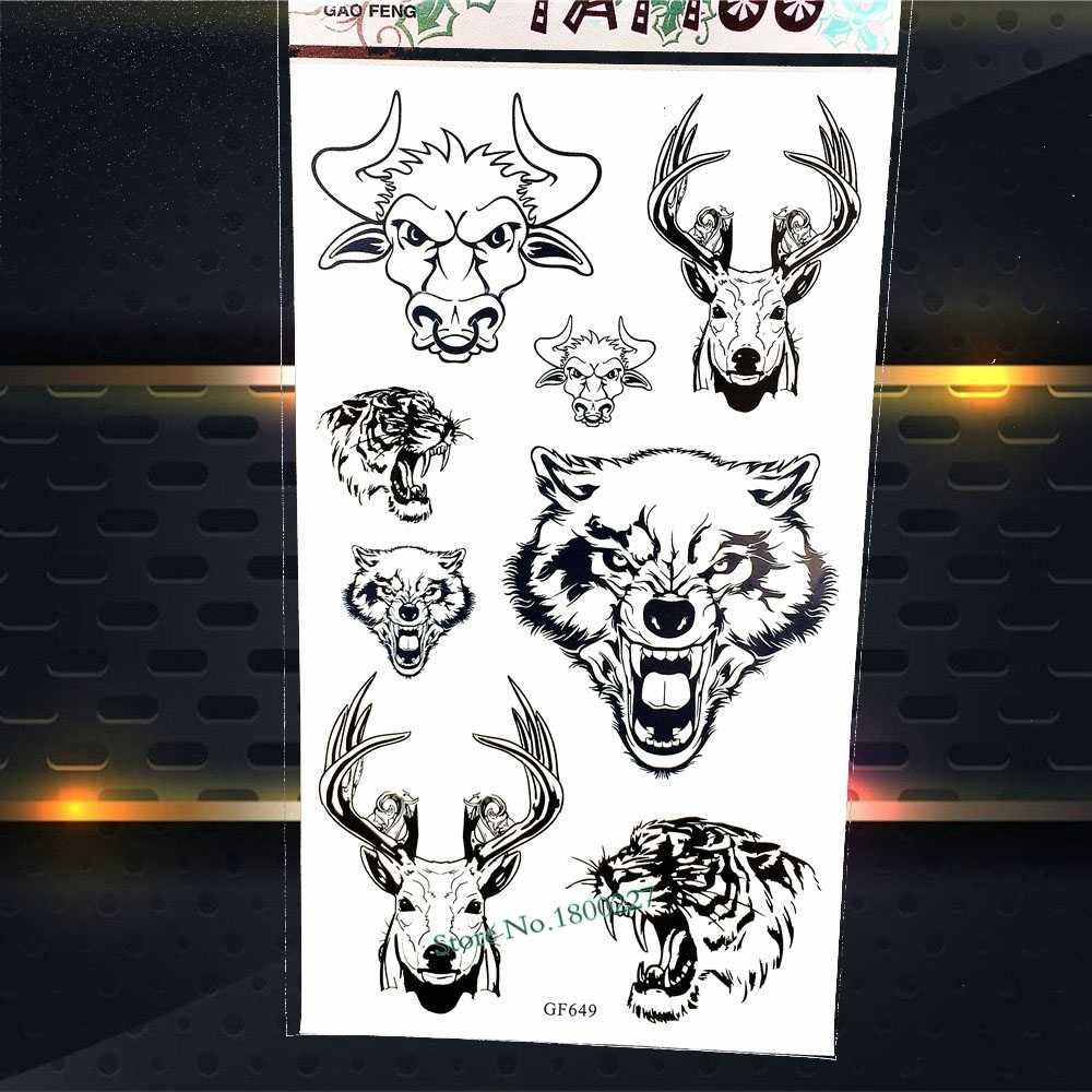 eebfcab601077 ... 3D Spider Skull Temporary Tattoo brain box Waterproof Henna Tattoo  Sticker PGF606 Halloween DIY Fake Flash