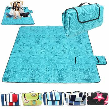 200x200CM Waterproof Folding Picnic Mat Outdoor Camping Beach Moisture-proof Blanket Portable CampingMat Hiking BeachPad