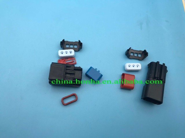 4897087AA 3 pin male and female automotive 3 pin crank shaft cam ...