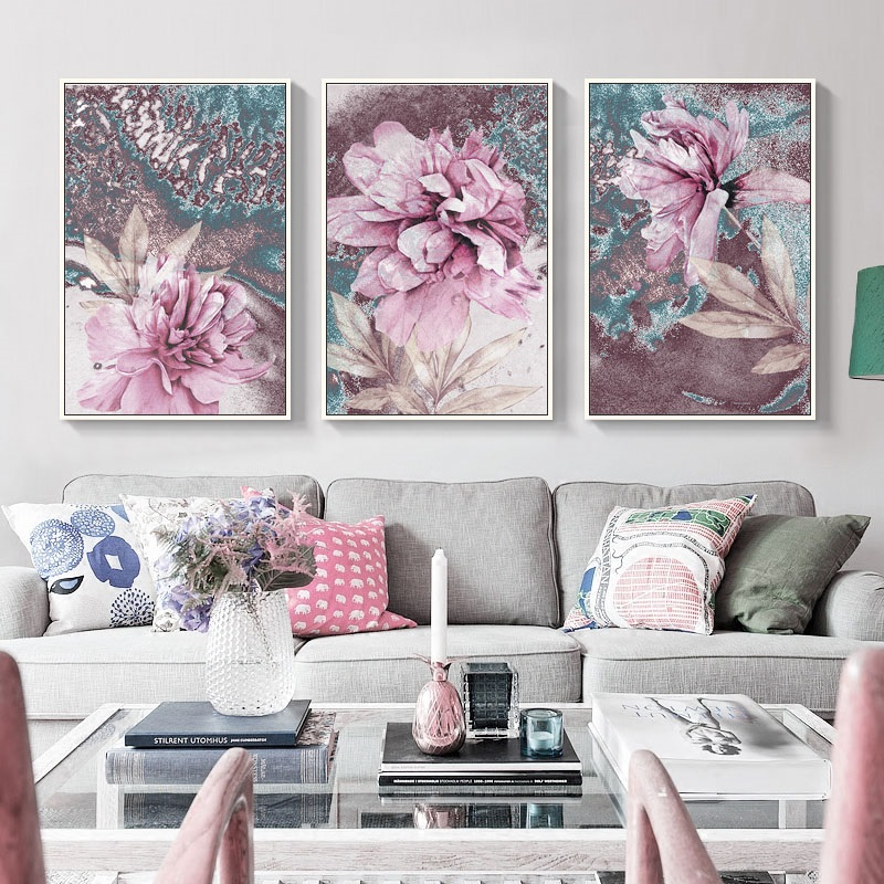3 Pieces Canvas Painting Blue Beach Sun Canvas Prints Wall Art Picture For Living Room Landsacpe Decorative Posters And Prints