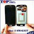 ЖК-Дисплей С Сенсорным Экраном Замены Дигитайзер Ассамблеи для Samsung Galaxy Ace 4 SM-G357 G357 G357FZ Телефон LCD Замены