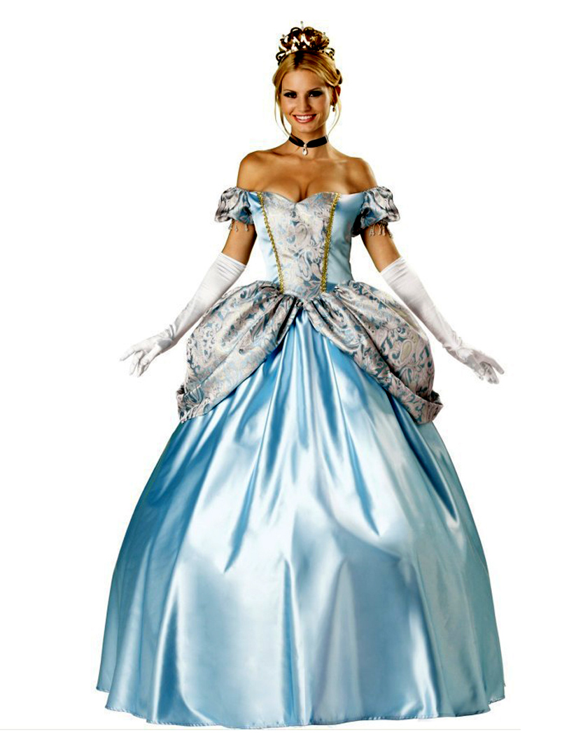 ensen noble european palace adults long sissy queen dress costumes