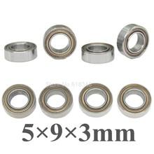 8pcs Ball Bearings 5x9x3mm For WLtoys 1 12 L969 L979 K959 L959 Yeah Racing Skateboard Upgrade