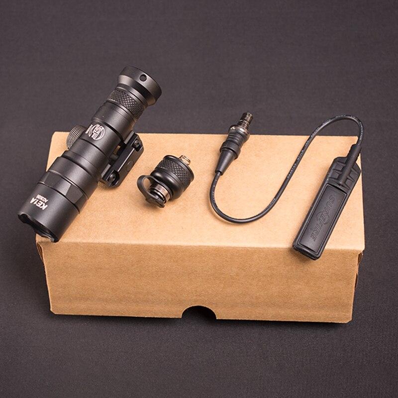 Caça M300 Arma Rifle Lanterna 400 lúmen