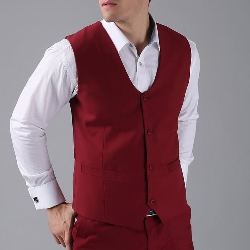 Royal New Arrival Groomsmen Groom Groomsmen Best Man Vest Custom Made Size And Color Four Wedding Buttons Prom Dinner Vest