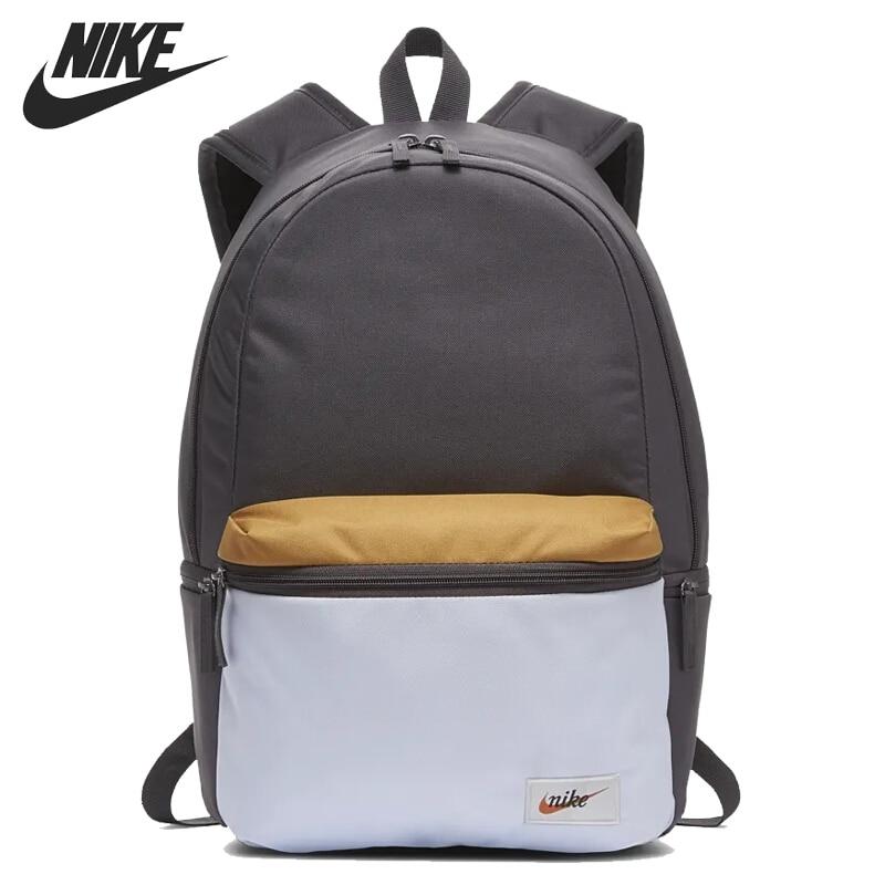Nova chegada original nike nk heritage bkpk-etiqueta unisex mochilas sacos de desporto