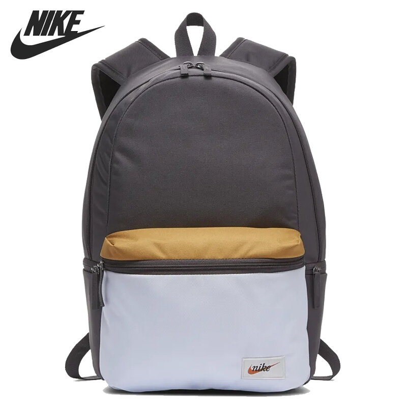 Original New Arrival NIKE NK HERITAGE BKPK - LABEL Unisex Backpacks Sports Bags