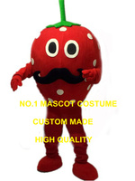 New Anime Cosply Costumes Strawberry Man Mascot Costume artoon Character Strawberry Fruit Theme Mascotte Fancy Dress Kits 1974