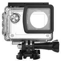 LBKAFA para SJCAM SJ5000 adaptador de carcasa de buceo impermeable para SJ 5000 WIFI SJ5000 Plus SJ5000X accesorios de cámara