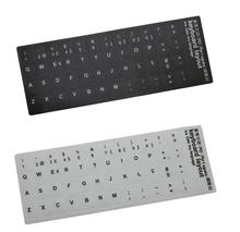 Po португальский буквы макет клавиатуры стандарт компьютера клавиатура стикер ноутбука наклейки
