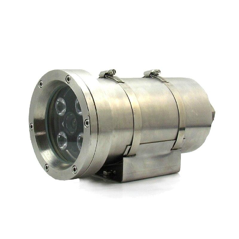 4.0MP caméras de surveillance de vision nocturne infrarouge haute définition IP sécurité réseau 304 boîtier en acier inoxydable P2P Onvif