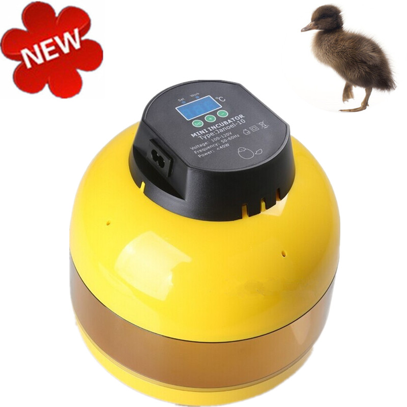 Ten Egg Incubator Controller Poultry Hatchery Machine For Chicken Duck Quail Bird Egg Advance Hatching Incubator small chicken poultry hatchery machines 48 automatic egg incubator 220v hatching for sale