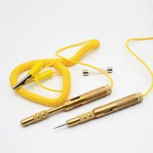 Onever Автомобильный Электрический тестовый прибор для автомобиля лампа напряжение тестовая ручка 6 в 12 В 24 В для Автомобиль Грузовик Мотоцикл набор инструментов для тестирования